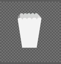 Per popcorn box mockup vector