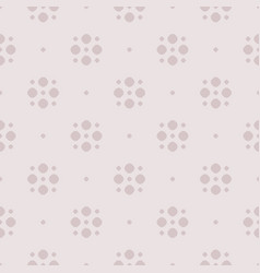 simple polka dot seamless pattern in pastel colors vector image