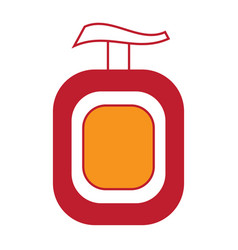 soap bottle icon image vector image