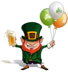 St Patrick Balloons vector image
