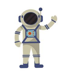astronaut exploration suit space vector image