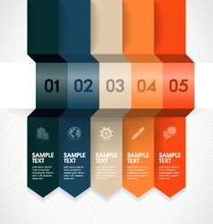 Infographic Element vector image vector image