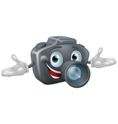 camera man vector image vector image