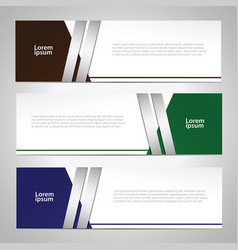 web banner vector image vector image