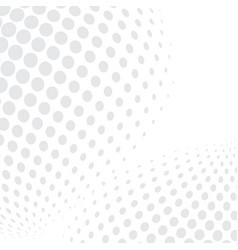 white bg halftone04 vector image vector image