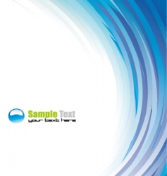 abstract background for brochure vector image