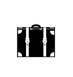 baggage icon isolated on white background vector image