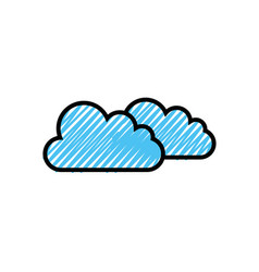 Clouds icon imag vector