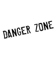 Danger Zone rubber stamp vector