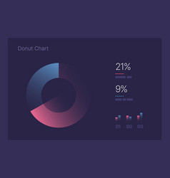 infographic for business layout template vector image