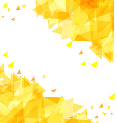 Modern abstract background chaotically moving vector