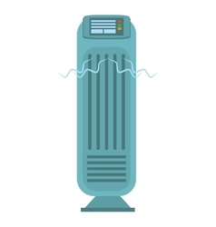 Tower fan room house appliance vector