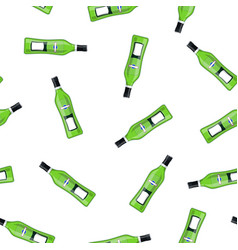 vermouth alcohol bottle vector image