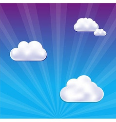 Cloud And Sky vector image vector image