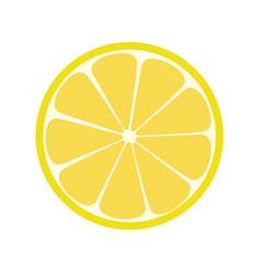 lemone icon citrus refreshing drink vector image