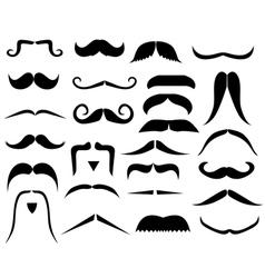 moustache8vs vector image