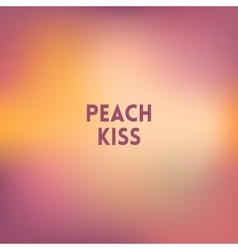 square blurred background - peach colors With vector image