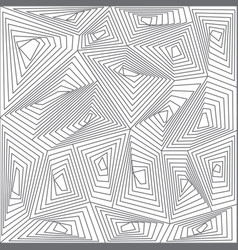abstract geometry pattern decorative vector image