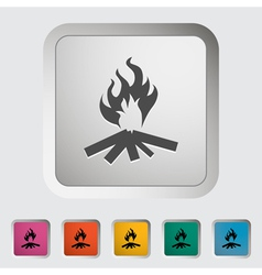 Bonfire vector