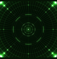 green target screen vector image