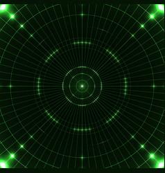 Green target screen vector