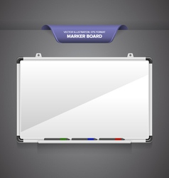 Marker Board vector