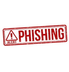 Phishing sign or stamp vector
