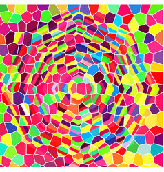 Stained-glass window abstract background vector