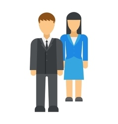 Workplace business discrimination issues vector image