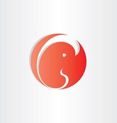 embryo fetus icon design element vector image