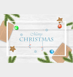christmas and new year background for vector image