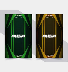 cover design template with abstract background vector image