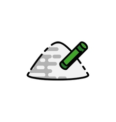 Drugs flat icon vector