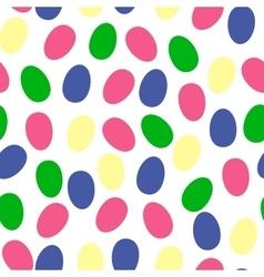 Easter seamless pattern eggs design egg vector