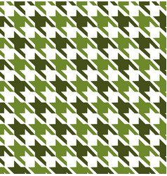 Green mix hounds tooth seamless pattern vector