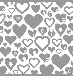 Heart a background3 vector