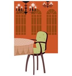 Luxury Dining Room vector