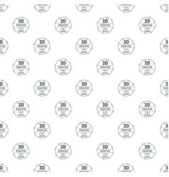 modeling 3d printing pattern seamless vector image