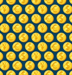 Money seamless patterns vector