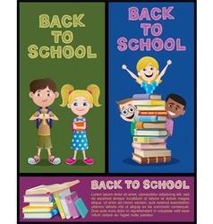School Banner Set Part 2 vector