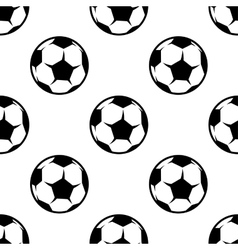 Soccer or football seamless pattern vector image vector image