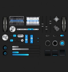graphic user interface vector image
