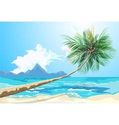 Summer on the beach vector