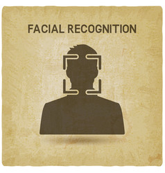 Facial recognition system vector