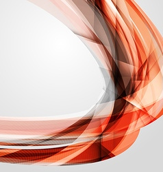 Abstract Red Futuristic Wave Background EPS10 vector