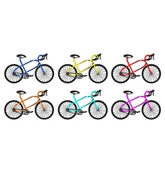 Bike rounded group vector