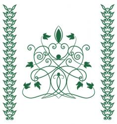 Celtic tree vector image