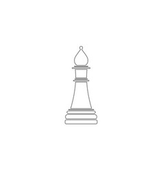 chess flat icon vector image