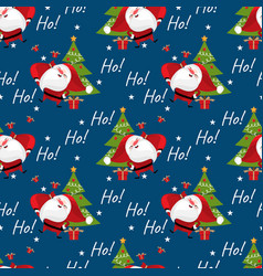Christmas holidays season seamless pattern vector