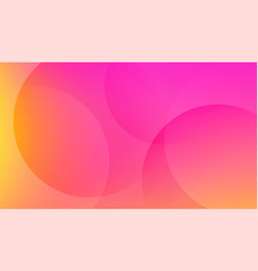 Colorful pink and yellow bright background vector